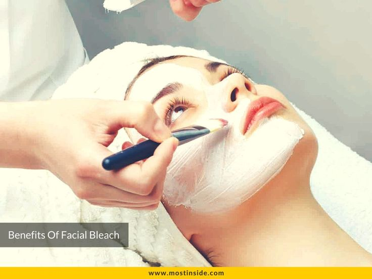 ‎#Bleaching‬ #rejuvenates the ‪#skin‬ enhancing the glow and removing the dullness on it.