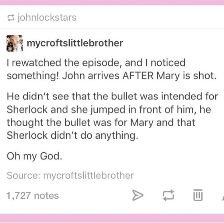 I'll admit that he thought Sherlock didn't do anything hadn't occured to me, but it had registered that he didn't know she saved Sherlock