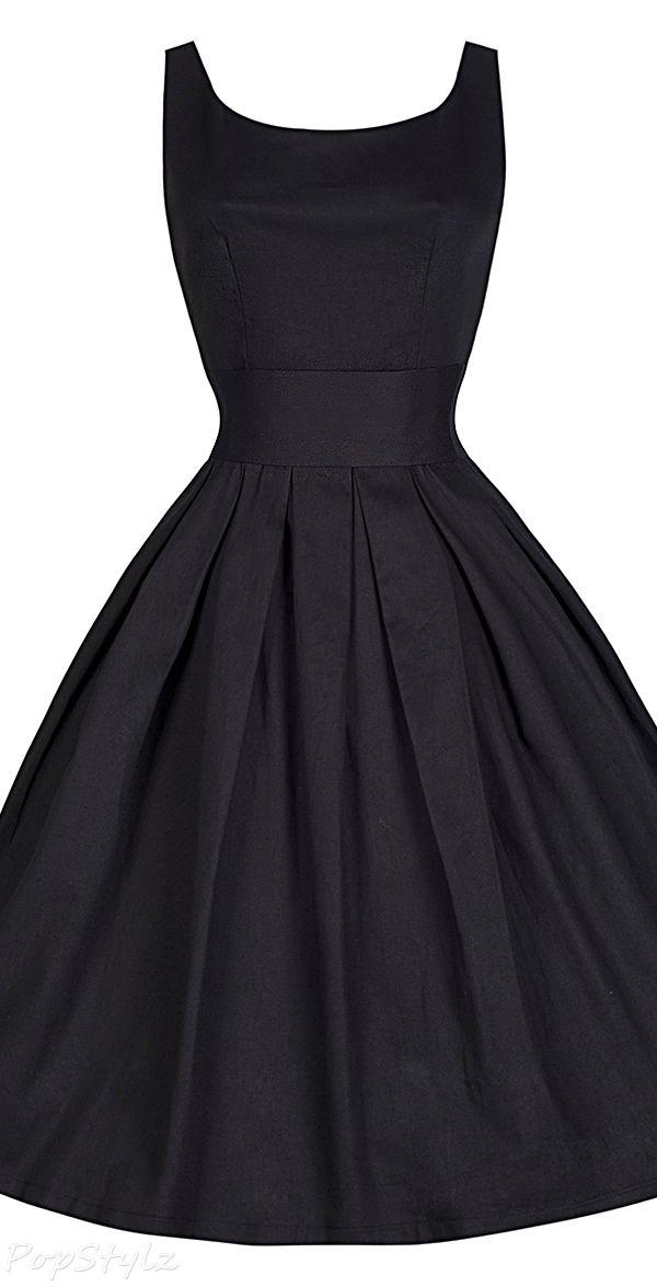 Lindy Bop 1950's Little Black Swing Dress