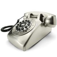 Dreyfuss 500 Desk Telephone in Chrome   Wild and Wolf