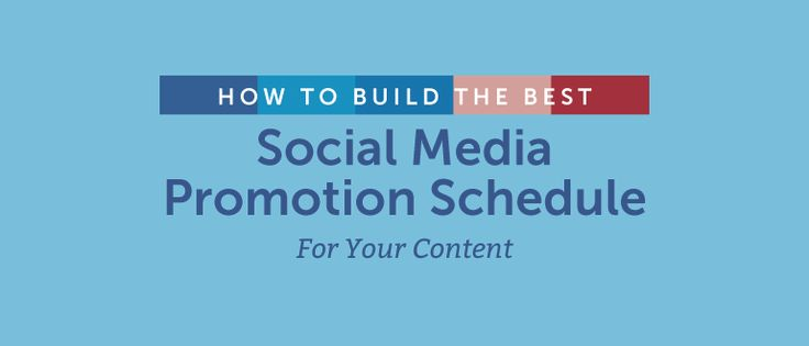 Social Media Promotion Schedule: Build One For Your Content https://coschedule.com/blog/social-media-promotion/?utm_campaign=crowdfire&utm_content=crowdfire&utm_medium=social&utm_source=pinterest