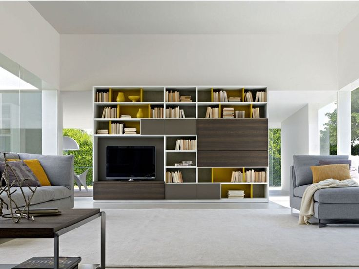 Molteni c 505 2011 edition bookshelves and multimedia
