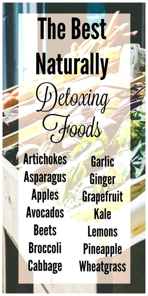 The Best Naturally Detoxing Foods | Learn the benefits of naturally detoxing…