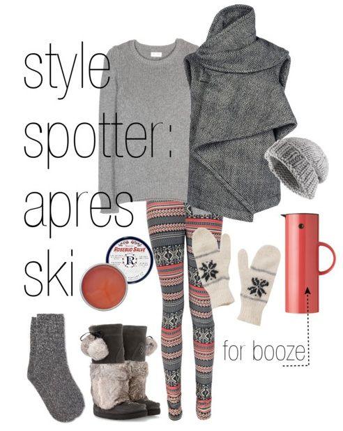 Lazy Travelers / February 12, 2014style spotter: après-skistyle spotter: après-ski | the lazy travelers
