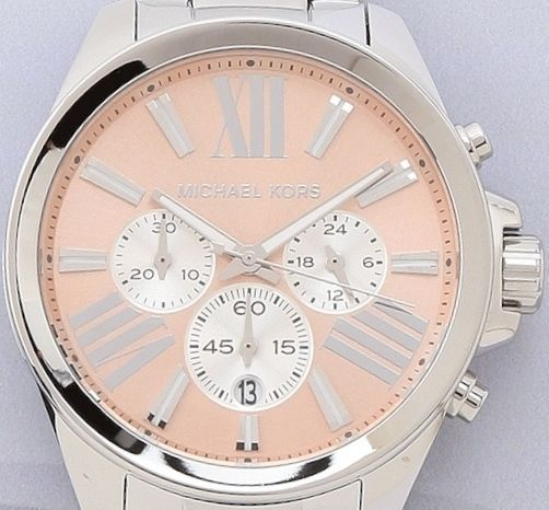 MICHAEL KORS WREN SILVER ROSE GOLD TONE DIAL STAINLESS STEEL LADIES WATCH MK5837