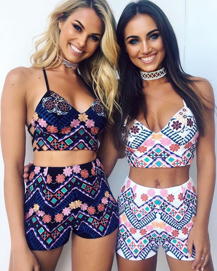 Super cute Aztec two pieces for you and your bestie.  Buy now pay later with our Afterpay option. @tigermistloves