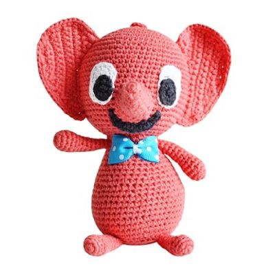 "Littlephant Melody Soft Toy - Plays ""Over the Rainbow"" ~ www.banditten.com"