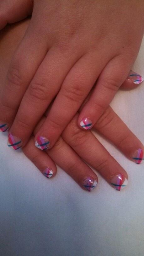 Frozen nail designs for little girls