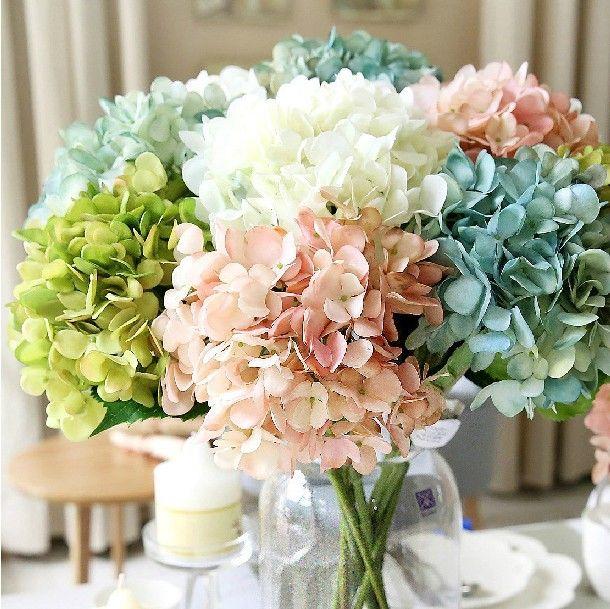 hortensia wedding bouquet - Google Search