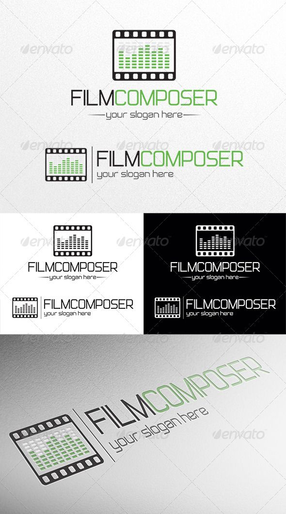 Film Composer #GraphicRiver The Pack included: -Ai, EPS, CDR, PSD, transparent PNG, JPG files -CMYK -100% vector -Easy to edit color / text Free font used – .dafont /not-just-groovy.font If you buy and like it, please vote! Thank you! Created: 2April13 GraphicsFilesIncluded: PhotoshopPSD #TransparentPNG #JPGImage #VectorEPS #AIIllustrator #CorelDRAWCDR Layered: Yes MinimumAdobeCSVersion: CS Resolution: Resizable Tags: Filmography #audio #brand #business #composer #corporate #creative…
