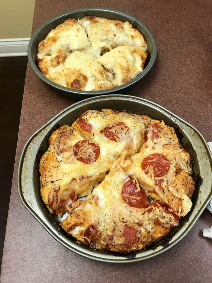 Bubble up pizza using pillsbury grands biscuits