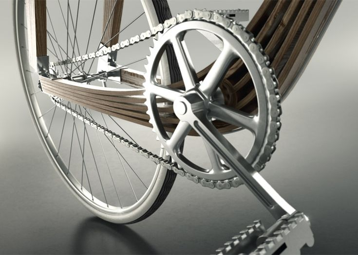 Architects Design Wooden Bicycle Frame to Explore Structural Engineering