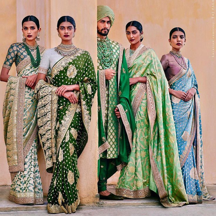 Sabyasachi. Heritage Bridal. THE BANARASI COLLECTION. REVIVE BANARAS. Campaign. October 2015.
