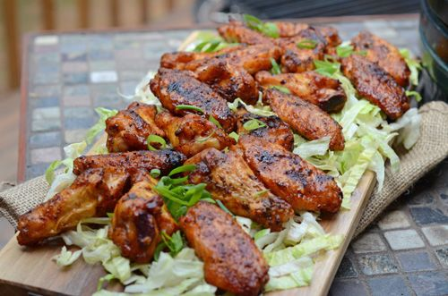 Nibble Me This: Dry Rub for Grilled Chicken Wings