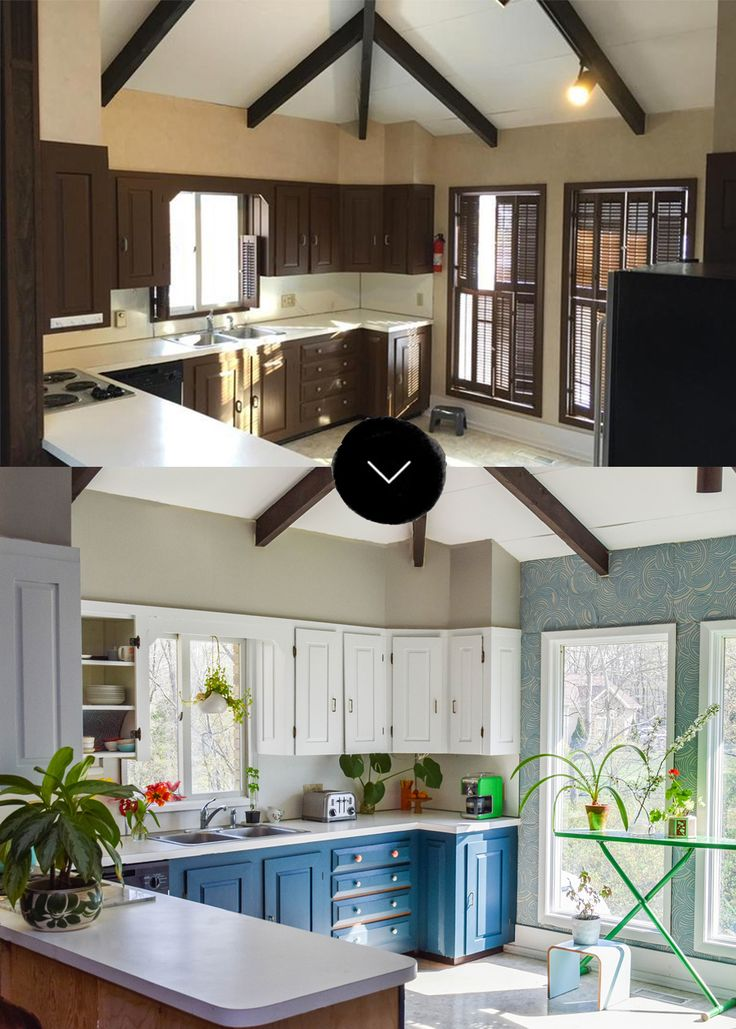 Before U0026 After: A Dreary Kitchen Gets A Bright Makeover For Spring Authoru0027s  Note: Weu0027re Excited To Bring You This Post Created With Our Partner, Loweu0027s,  ...