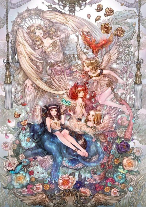 All the lovely goddess - Tree of Savior Art