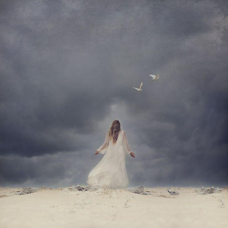 """In the eye of the Storm"" © Natascha van Niekerk Fine Art Photography as decor. Conceptual portrait."