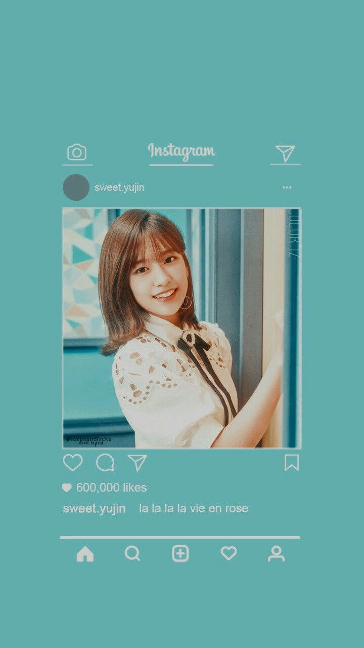Yujin Wallpaper Iz One Kpop Wallpaper Kawaii Wallpaper Aesthetic Pictures
