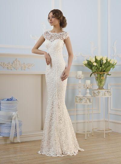 Свадебные платья Прямые свадебные платья 웨딩드레스