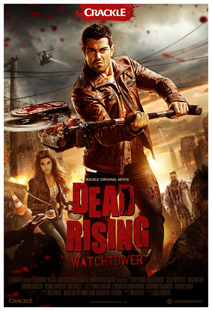 Dead Rising Watchtower Movie Poster Dead Rising Dead Rising Watchtower Watch Tower