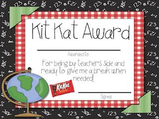 Candy Student Awards Giveaway