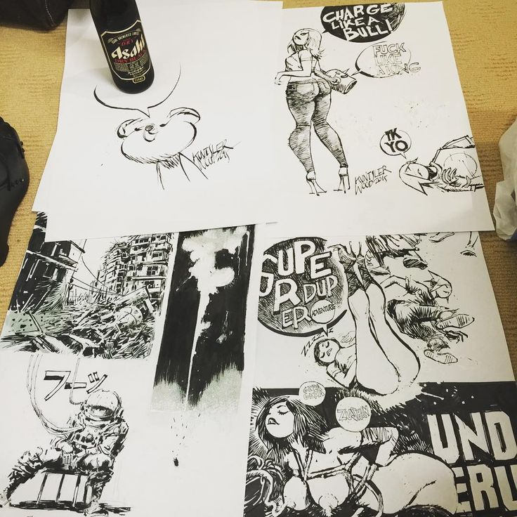 """""""#beer3a doodles from today"""""""