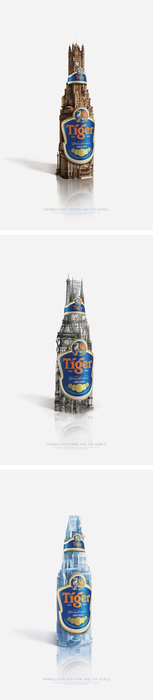 Tiger Beer Credentials 2009 by Nazly Kasim, via Behance