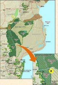 Xonghile in Mozambique 2m, 36000ha - no commercial