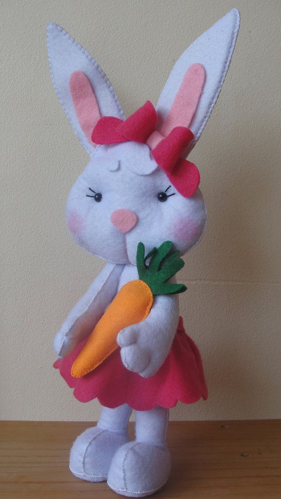 Bunny Rabbit  Easter Bunny by DMLcraft on Etsy