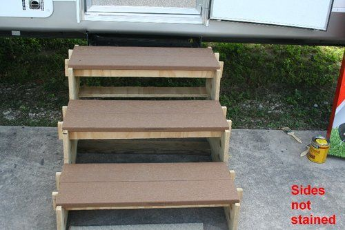 Best 100 Best Images About Rv Stairs On Pinterest 400 x 300