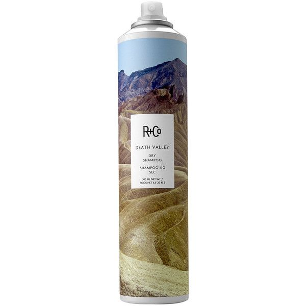 R+Co Death Valley Dry Shampoo ($29) ❤ liked on Polyvore featuring beauty products, haircare, hair shampoo, fillers, beauty, makeup, hair, waterless hair shampoo, dry shampoo i hair thickening shampoo