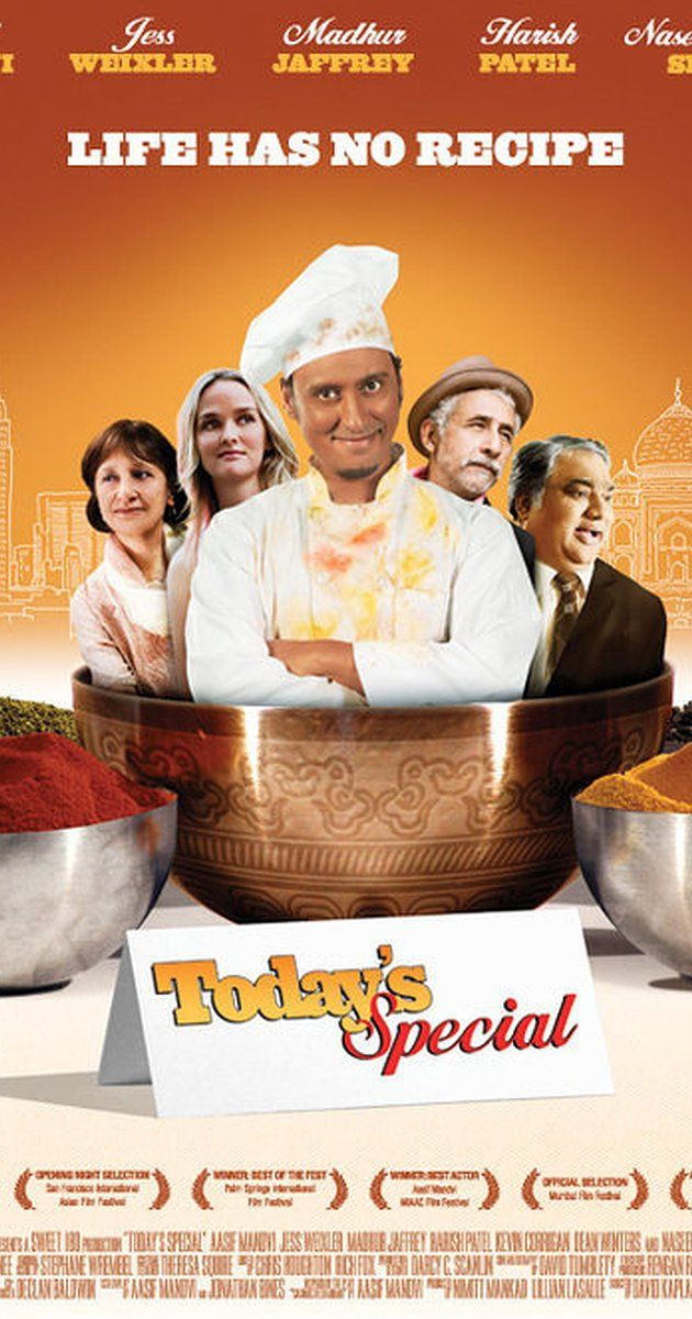In this super-feel-good foodie comedy, young Manhattan chef Samir rediscovers his heritage and his passion for life through the enchanting art of cooking Indian food.