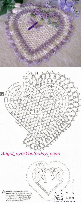 La servilleta el corazoncito por el gancho | Laboratory household