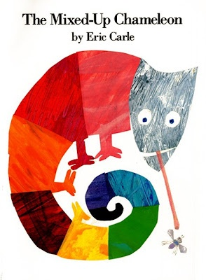 Chameleon Unit... other books listed on page and even an art project!