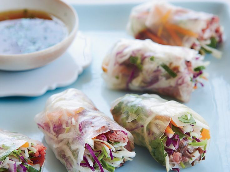 Roast Beef Summer Rolls   Food & Wine goes way beyond mere eating and drinking. We're on a mission to find the most exciting places, new experiences, emerging trends and sensations.