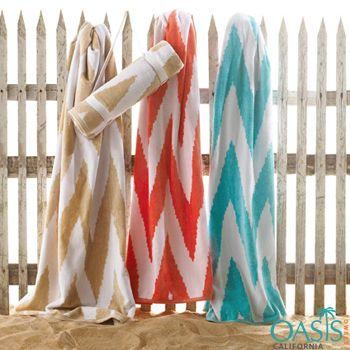 Designer Custom Beach Towels Wholesale