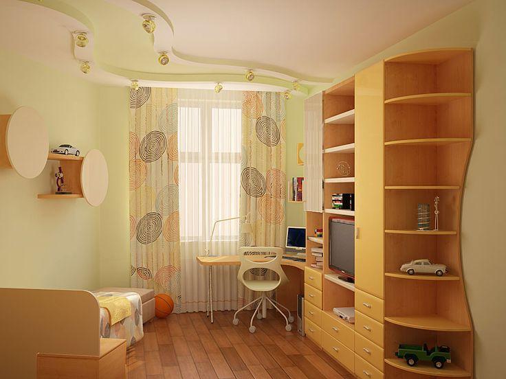 Дизайн-проект интерьера детской комнаты nobilis