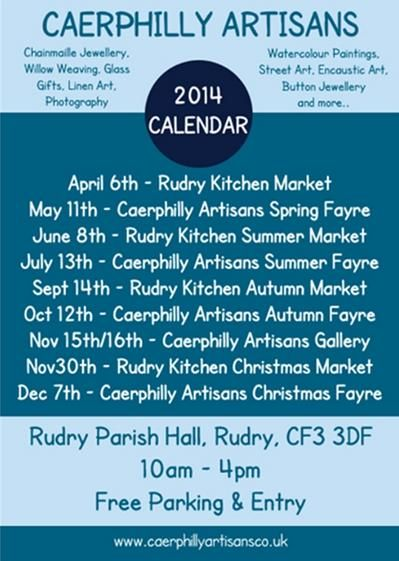 HOT OFF PRINTING PRESS!  Our Events Calendar Flyer now available.