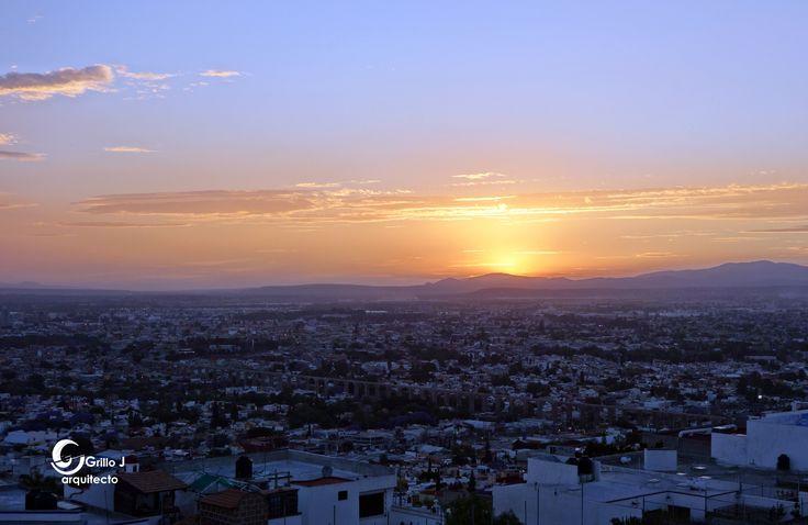 Atardecer en primavera, Querétaro, México