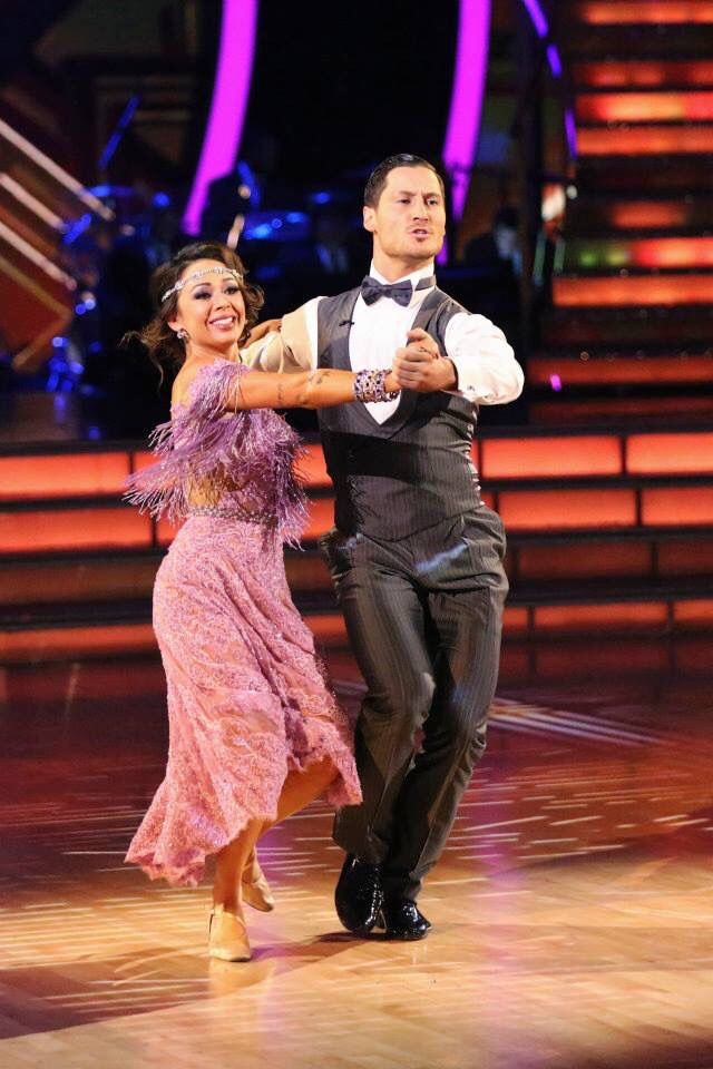 week 9 dwts janel and val dating