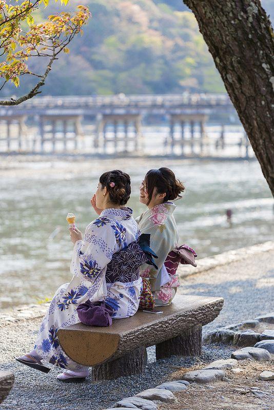 嵐山  Kyoto, Japan  Arashiyama!
