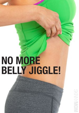 Here are 6 great routines for you to get rid of the belly jiggle.