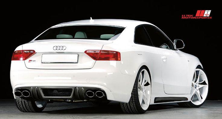 Audi S5 coupe white - Carbon Fiber Look Bodykit