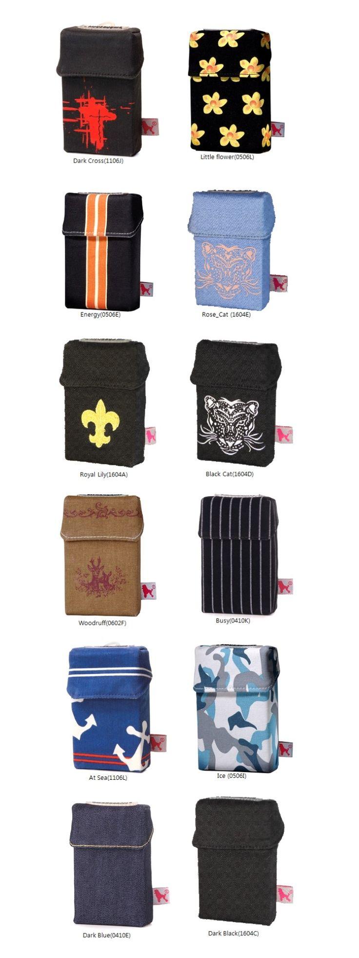 담배케이스 스모크셔츠, 36가지 골라 입히는 재미, 패브릭/가죽 소재