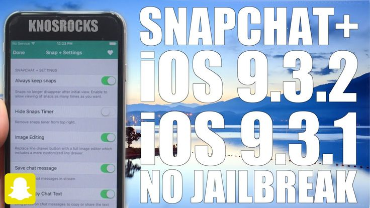 How To Install Hacked SnapChat+ iOS 9 - 9.3.2 Without (No) Jailbreak iPh...