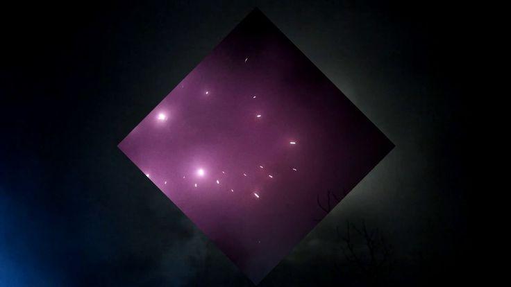 Silvestrovský ohňostroj v malém městě (31.12.16) / New Year's Eve Fireworks (31.12.16)