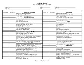 nike design your own shoes kids This classroom   student observation checklist is intended for use to assess student behavior in the classroom  It can determine if a student is in need of Resource or Special Education