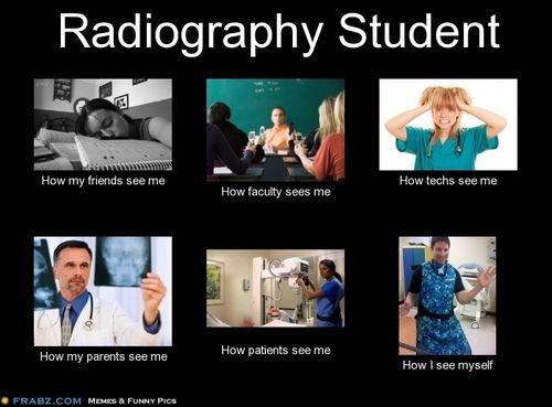 Radiography student
