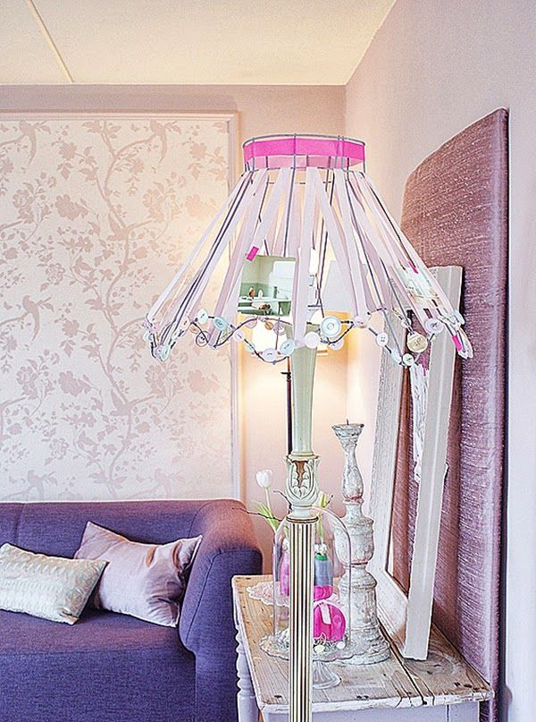 Best 25+ Ribbon lamp shades ideas on Pinterest | Shabby ...