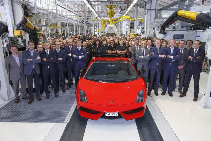 Ultimo #Lamborghini Gallardo de la historia¨- The last #Gallardo
